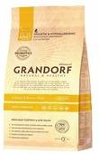Корм для кошек Grandorf Living Probiotics Adult Sterilized 4 Meat&Brown Rice