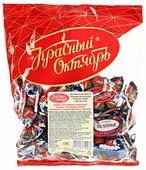 Конфеты Красный Октябрь Желейные вкус клубника со сливками, пакет