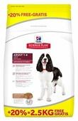 Корм для собак Hill's Science Plan для здоровья кожи и шерсти, ягненок с рисом
