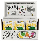 Фруктовый батончик Bitey Box без сахара Яблоко-банан, 30 шт