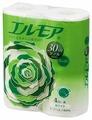 Туалетная бумага Ellemoi белая двухслойная с цветочным ароматом