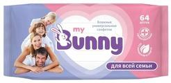 Влажные салфетки My Bunny универсальные для всей семьи