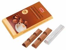 Шоколад Коммунарка молочный c начинкой со вкусом капучино элит порционный
