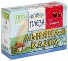 ПЛЕЗА Каша льняная вкус Вишня (коробка), 200 г