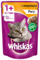 Корм для кошек Whiskas с индейкой 85 г (кусочки в соусе)