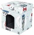 Будка для кошек DreamBag складная Кошки 37х37х40 см