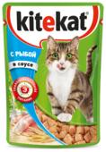 Корм для кошек Kitekat С рыбой в соусе