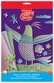 Цветная бумага металлизированная самоклеящаяся ArtBerry, 17x24.8 см, 6 л., 6 цв.
