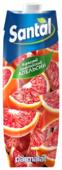 Напиток сокосодержащий Santal Красный сицилийский апельсин, с крышкой