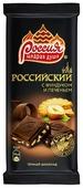 """Шоколад Россия - Щедрая душа! """"Российский"""" темный с фундуком и печеньем"""