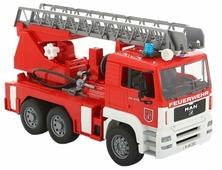 Пожарный автомобиль Bruder MAN с лестницей и помпой (02-771) 1:16 47 см