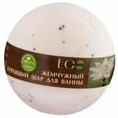EO Laboratorie Бурлящий шар для ванны Белый лотос и пальмароза 220 г