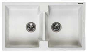 Врезная кухонная мойка Reginox Amsterdam 20 86х50см искусственный гранит