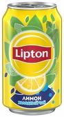 Чай Lipton Лимон, банка