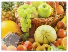 Разделочная доска Best Home Kitchen 5341028 Фруктовый урожай 40х30х0,5 см