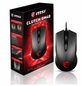 Мышь MSI Clutch GM40 Black GAMING Mouse, USB