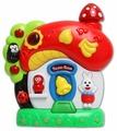 Интерактивная развивающая игрушка Азбукварик Грибок-теремок