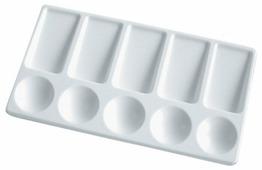 Палитра Луч пластиковая прямоугольная (9С 477-08)