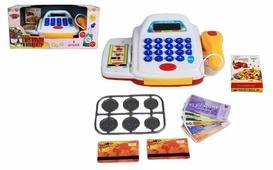 Касса Shantou Gepai со сканером и набором денег, свет, звук (M6862)