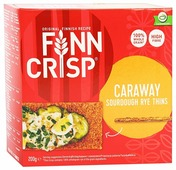 Сухарики ржаные Finn Crisp с тмином 200 г