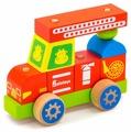 Каталка-игрушка Alatoys Пожарная машина (ККМ01)