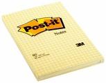 Post-it Блок Classic, 102х152 мм, канареечно-желтый, 100 штук (662)