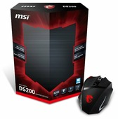 Мышь MSI Interceptor DS200 GAMING Mouse, Black, USB