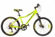 Подростковый горный (MTB) велосипед LAUX Graw Up 24 (2017)