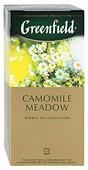 Чайный напиток травяной Greenfield Camomile Meadow в пакетиках