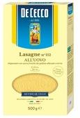 De Cecco Лазанья Lasagne n° 112 all'uovo, 500 г