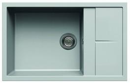 Врезная кухонная мойка elleci Unico 310 78х50см искусственный гранит