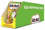 Корм для кошек Kitekat с курицей (кусочки в соусе)