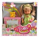 Кукла Dimian Baby Nena Нена с цветком, 38 см, BD386