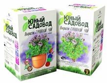 Набор для выращивания Инновации для детей Юный садовод. Вырасти травяной чай