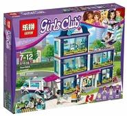 Конструктор Lepin Girls Club 01039 Клиника Хартлейк Сити