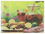 Разделочная доска Best Home Kitchen 5341007 Фруктовый морс 40x30x0,5 см рифленая