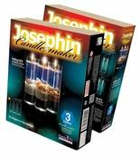 Josephin Гелевые свечи с ракушками Набор №3 (274013)