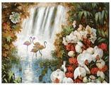 "Белоснежка Картина по номерам ""Райский сад"" 30х40 см (093-AS)"