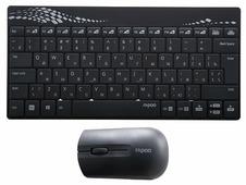 Клавиатура и мышь Rapoo 8000 Wireless Black USB