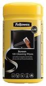 Fellowes Screen Cleaning Wipes влажные салфетки 100 шт. для экрана, для ноутбука