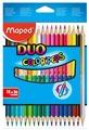 Maped Цветные карандаши двусторонние Color Peps Duo 36 цветов 18 штук (829601)