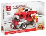 Конструктор Jie Star Town 22029 Пожарная машина 3 в 1
