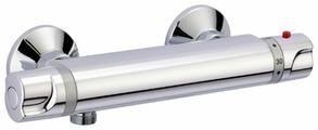 Смеситель для душа TEKA Inca Pro 27.201.02.00 двухрычажный с термостатом хром