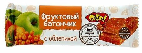 Фруктовый батончик ОГО! без сахара Облепиха, 30 г