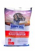 Лакомство для собак Happy Dog Жевательные полоски с говядиной и телятиной