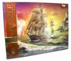 Пазл Danko Toys Морской бой 1 (C1500-02-09), 1500 дет.
