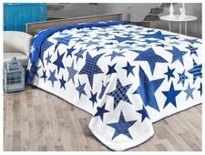 Плед KARNA хлопок STARS, 180 x 240 см