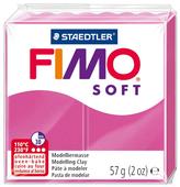 Полимерная глина FIMO Soft запекаемая малиновый (8020-22), 57 г