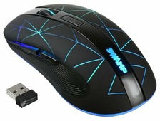 Мышь Oklick 975GW SWAMP Black USB