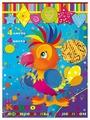 Цветной картон гофрированный с рисунком 28578 Феникс+, A4, 4 л., 4 цв.
